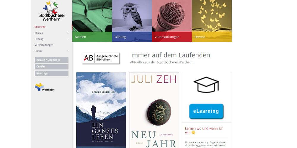 NETZBURG.DE Website StaBi Wertheim